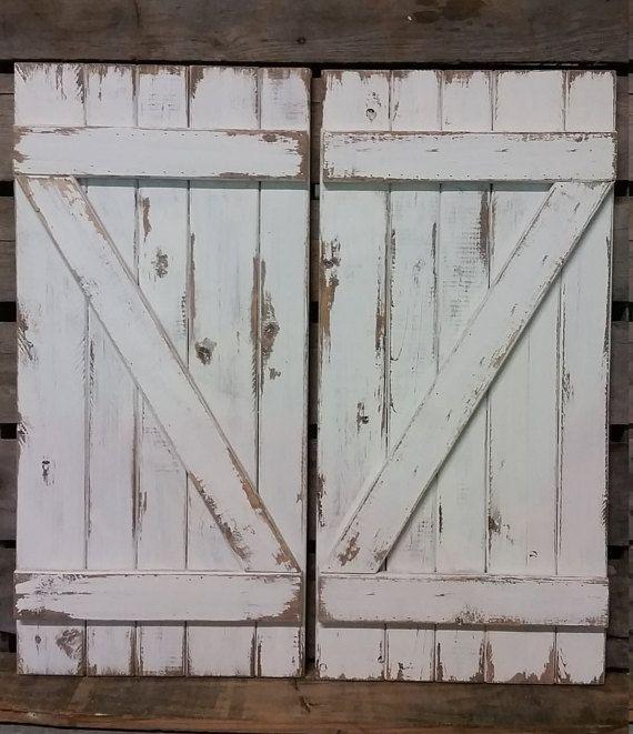 Best 25 Distressed shutters ideas only on Pinterest Shutter