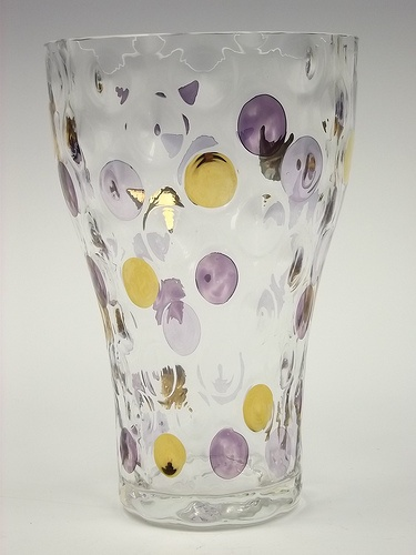 Borské Sklo 'Nemo' glass vase: Photo Art