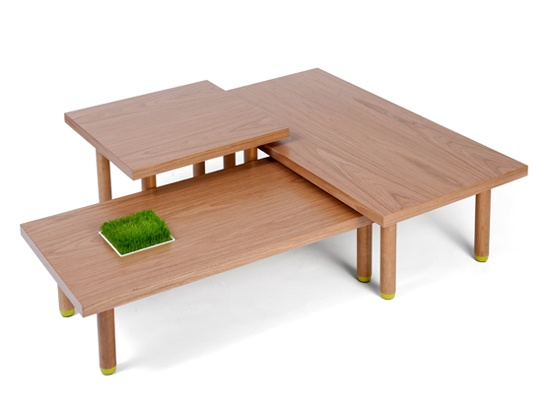 BIXBIT coffee tables Haru design: Kuba Blimel