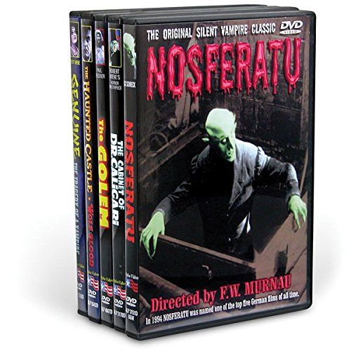 German Expressionism 5-Film Collection (5-DVD) Alpha Video