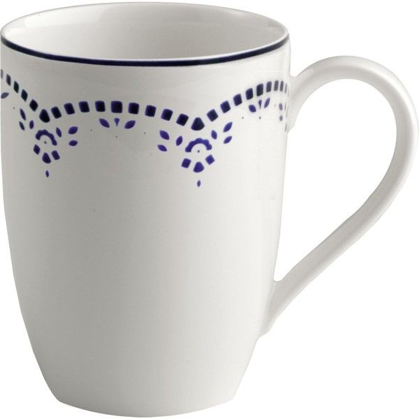 GALLO DESIGN Daily Blue Mug 0.30l (325 EGP) ❤ Liked On Polyvore Featuring