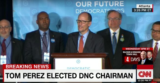 nice Tom Perez Has Been Elected DNC Chair Check more at https://epeak.info/2017/02/25/tom-perez-has-been-elected-dnc-chair/