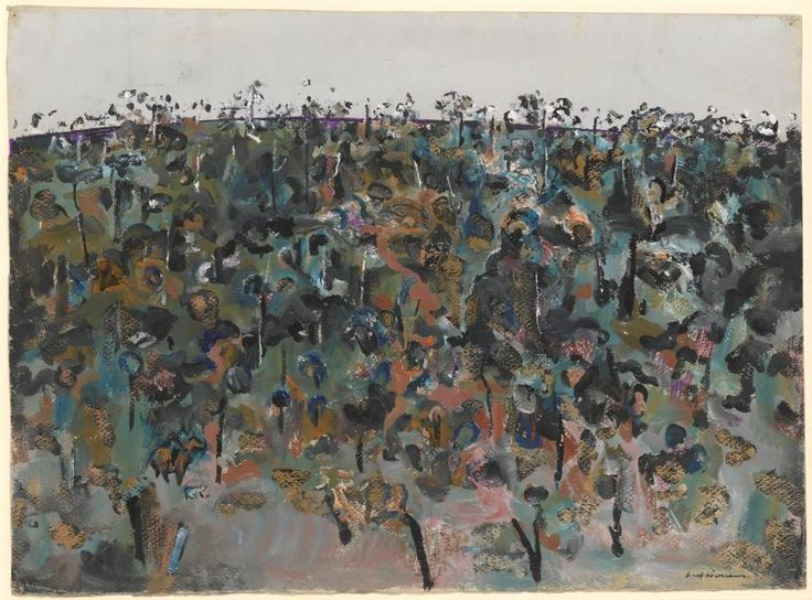 Horseman in the landscape   Fred WILLIAMS   NGV   View Work