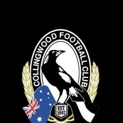 The Collingwood Football Club. The Mighty Magpies. No knockers allowed!