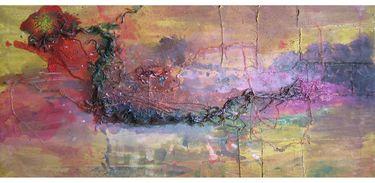 "Saatchi Art Artist Andrei Autumn; Painting, ""Improvisation No.74 aka Red Dragon"" #art"