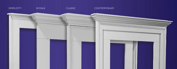 Exterior Window Trim Options