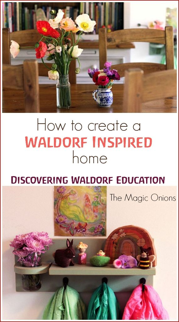 Discovering Waldorf Education :: How To Create A Waldorf Inspired Home :: www.theMagicOnions.com