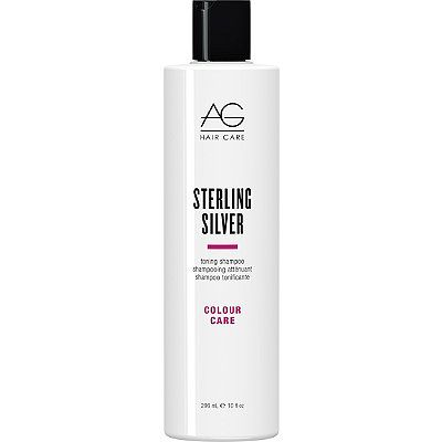 AG Hair Colour Care Sterling Silver Toning Shampoo 10.0 oz