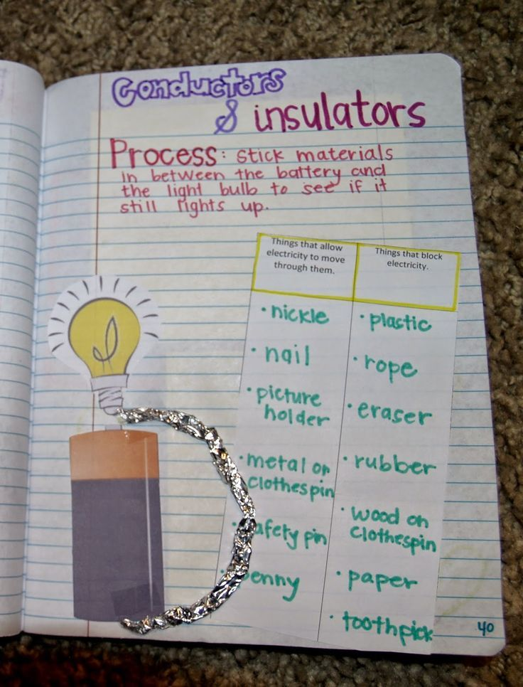 Teaching Science With Lynda: Teaching About Electricity and Circuit With Interactive Notebook Ideas