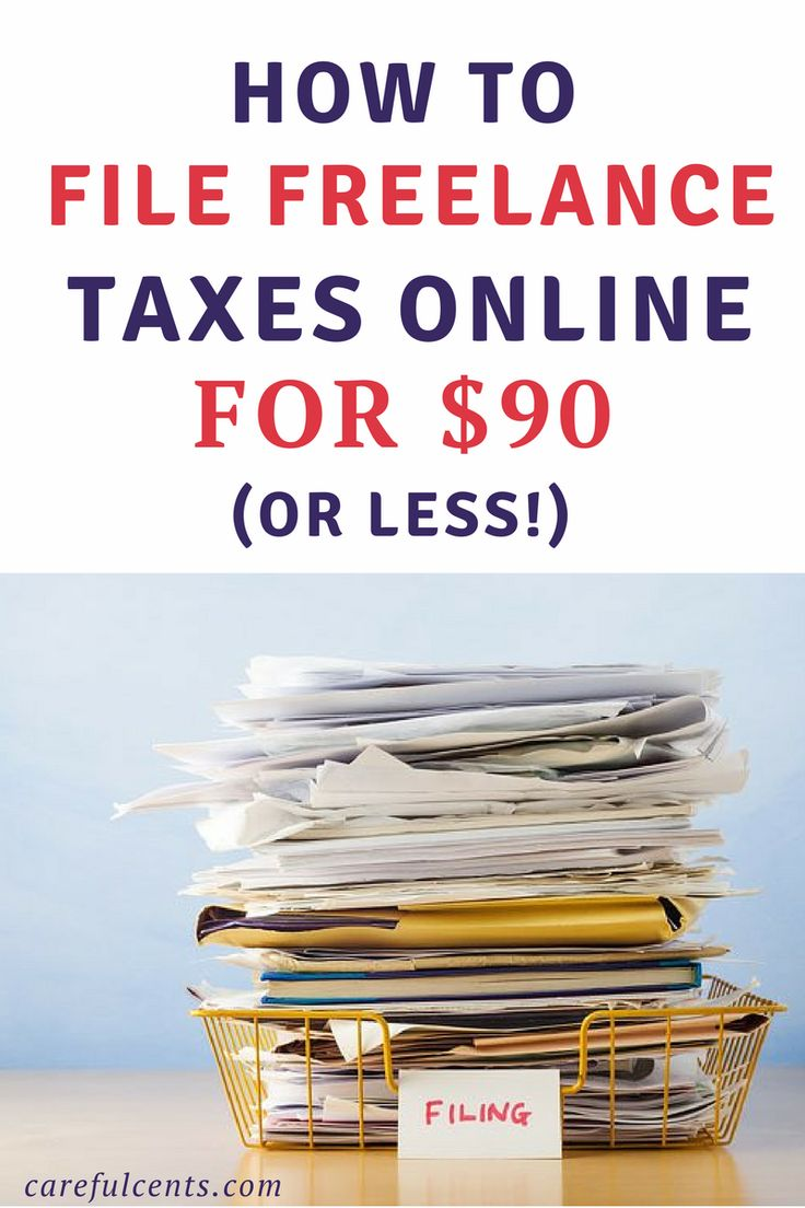 Want to save money by DIY business tax filing yourself? Learn how I file freelance taxes online for less than $90 -- and how you can too! Self-employed taxes made easy.