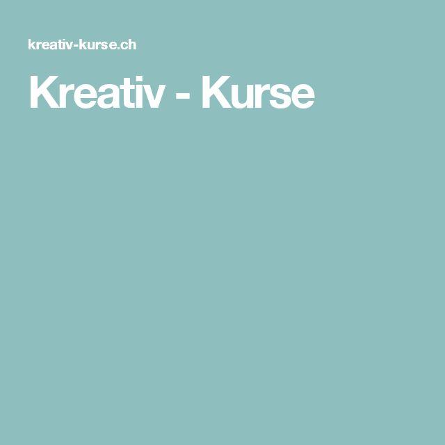 Kreativ - Kurse