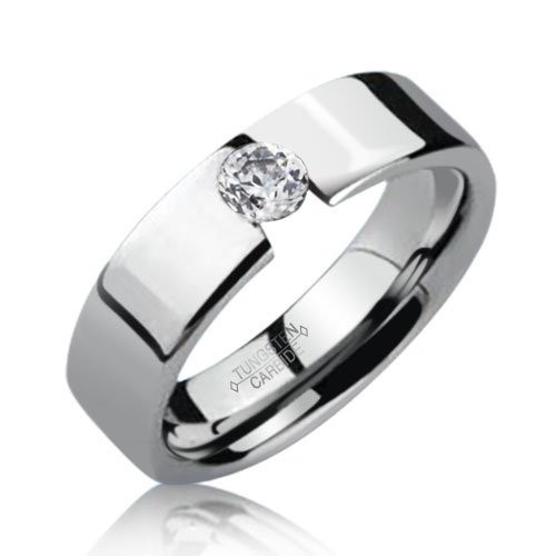 #Modern Unisex #engagementring