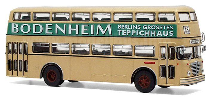 Bussing D2U (1951) Diecast Model Bus