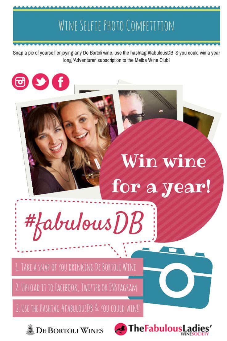 Win #wine for a year! Thanks to @Leanne De Bortoli and the De Bortoli Wines' Melba Wine Club.   More info --> http://fabulousladieswinesociety.com/2014/02/win-wine-for-a-year-thanks-to-de-bortoli-the-melba-wine-club/