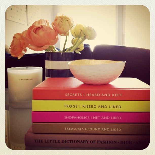 A collection of the Archie Grand notebooks makes for great coffee table decor.