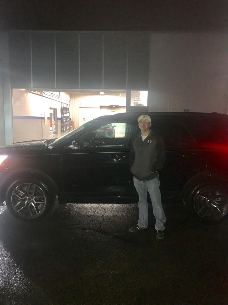 BRAD's new 2017 Ford Explorer! Congratulations and best wishes from Kunes Country Ford Lincoln of Sterling and Chris Lansford.