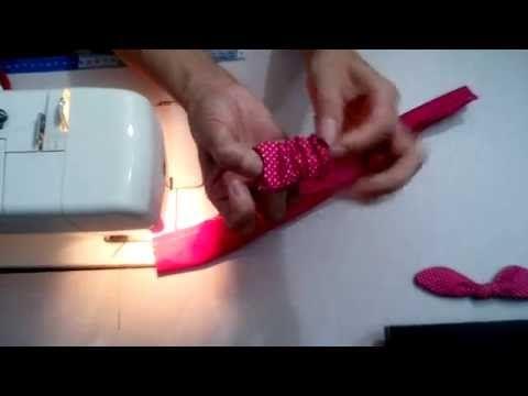 Tilda Toy/Baby: Faixa para o cabelo parte 2/3 - YouTube