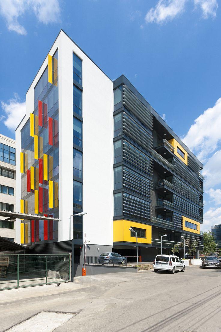 Office building - Bucharest by Point Zero & Zebra3 photo by Marius Grigore www.pzero.ro