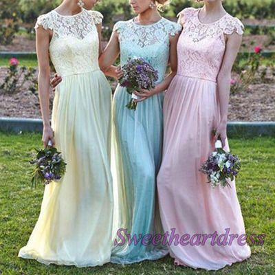 Modest lace junior prom dress, ball gown 2016, elegant custom made long prom dresses for teens sweetheartdress.s... #coniefox #2016prom