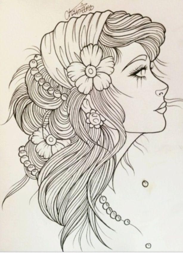 Gypsy sketch