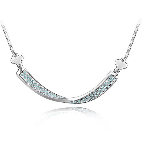 """Collar """"Flecha de Amor"""" con Cristales Swarovski Elements"""