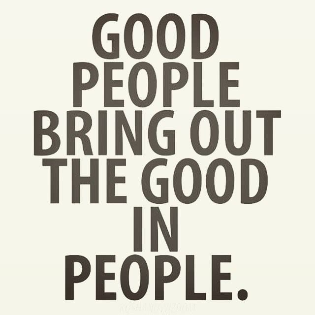 Good people bring out the good in people. Be good today! : @agnespagan http://ift.tt/2iisrHn #upliftingyourspirit