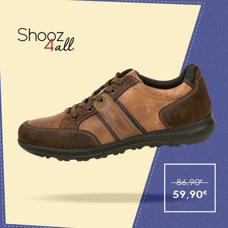 Καφέ casual παπούτσια δερμάτινα http://www.shooz4all.com/el/andrika-papoutsia/kafe-casual-papoutsia-dermatina-60920-detail #shooz4all #dermatina #andrika