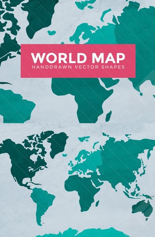Best 25 world map vector free ideas on pinterest map vector world map vector outlines vectorgraphics vectorinfographics vectordesign vectorelements gumiabroncs Images