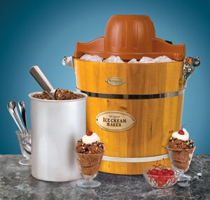 nostalgia electrics frozen dessert maker instructions