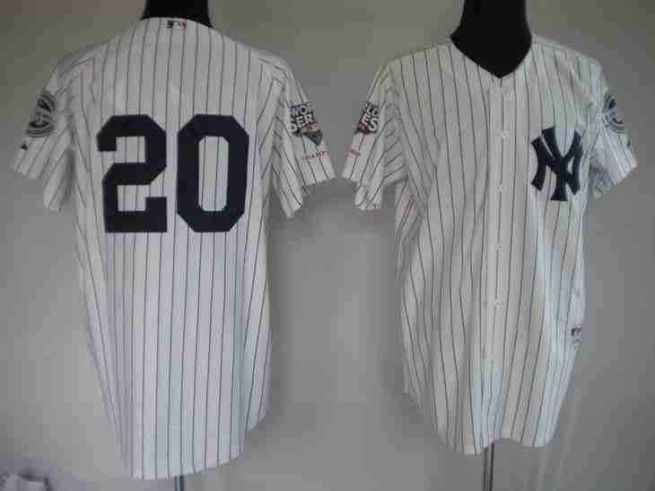 c93aadaea Jorge Posada White Jerseys 18.99 This jersey belongs to New York Yankees  Color ...