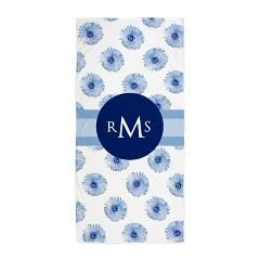 Personalized Monogramed Beach Towel