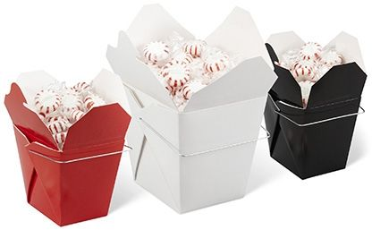 Chinese Take Out Boxes, Chinese Takeout Boxes In Stock - Uline