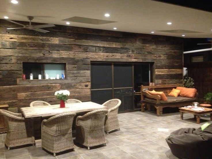 44 Best Images About Reclaimed Wood Feature Walls On