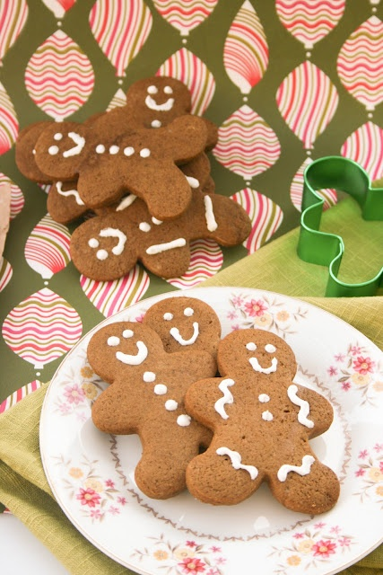 Soft Gingerbread Cookies- #egg-free and #nut-free!