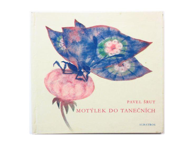 《SOLD OUT》イトカ・ヴルボヴァー「Motylek do tanecnich」1969年   チェコのえほんとポスター展 ~特設通販サイト~
