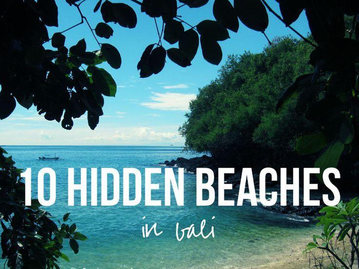 10 Hidden Beaches in Bali #bali #indonesia #beach