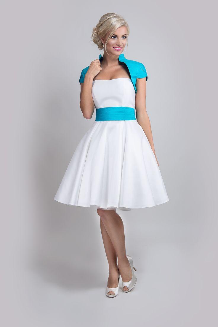 Couture Brautkleid Lisa 2015 Kurzes Petitcoat mit eingenähter Corsage ...