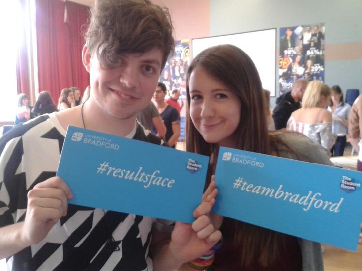 Well done guys on your A-level results!!!! #teambradford #resultsface