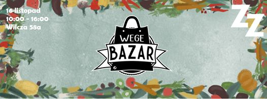Ekologiczna żywność, dania wegańskie i wegetariańskie, pyszne ciasta, a także pomysły na prezent. Wszystko to możecie znaleźć na Wege Bazarze.  W ramach wydarzenia przewidziane są m.in. warsztaty, wykłady i pokazy kulinarne.