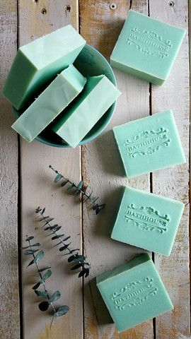 Eucalyptus by Bathhouse Soapery Handmade Soap, Bath and Body