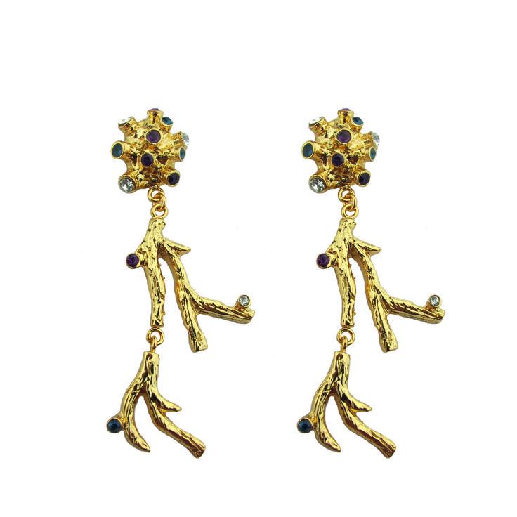 // Vergara Collection - Acropora Earrings - PAJAROLIMON