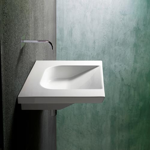 Ada Compliant Community Ceramic White Wall Mount Or Countertop Bath Sink Without Faucet Hole Ws