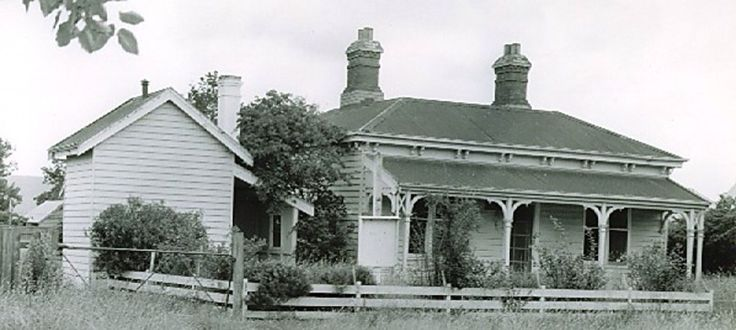 Old Police Buildings at Cowwarr, Wellington Shire. Police Cells on the left hand side of the photo. #twistedhistory #murder #police #cowwarr