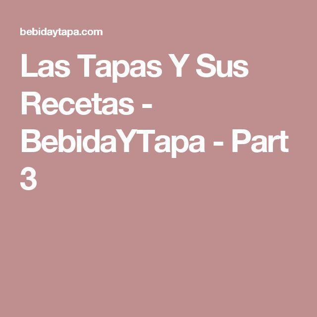 Las Tapas Y Sus Recetas - BebidaYTapa - Part 3