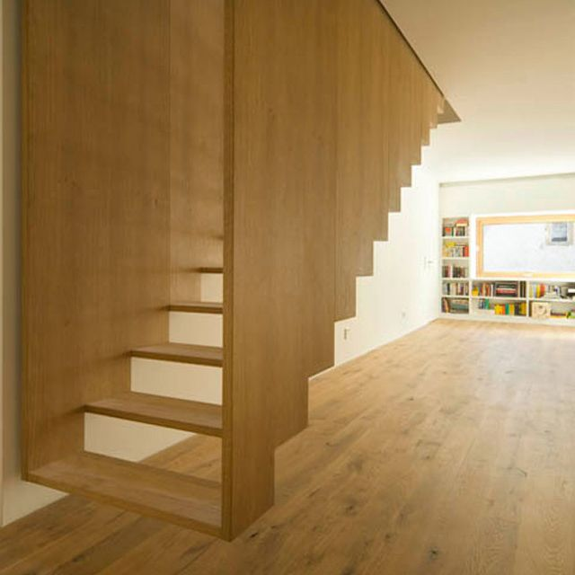 Suspended Staircase by SoHo Architecture
