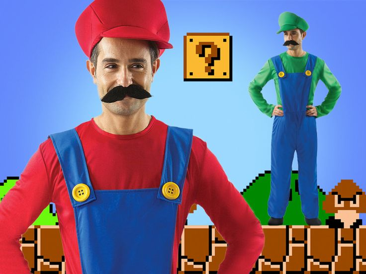 This Bad Plumber and his Mate Costumes are so cool!