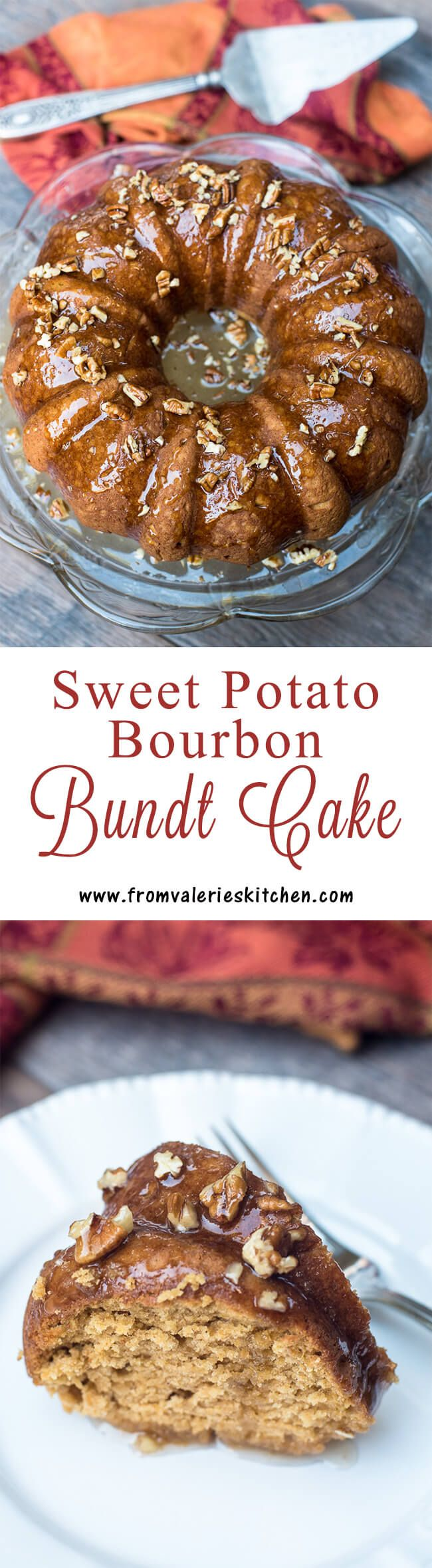 A sweet, nostalgic cake that is perfect for the holidays! ~ http://www.fromvalerieskitchen.com