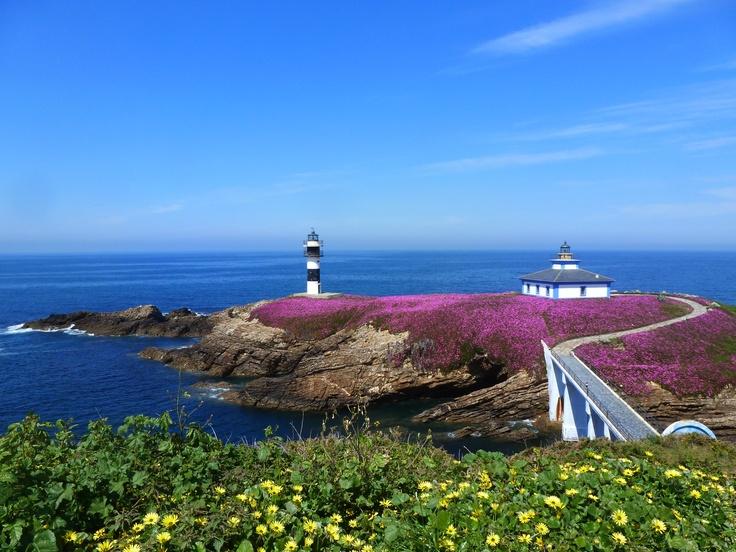 Isle Pancha sealigth. Ribadeo ,Galicia Spain