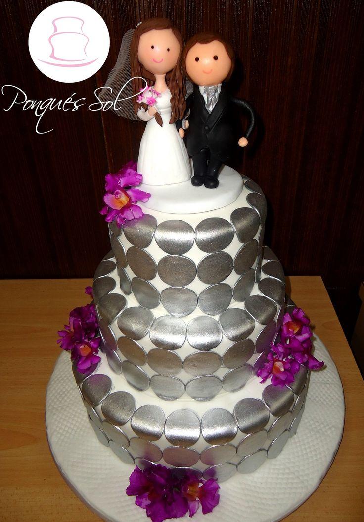 Ponqué / Torta de Matrimonio -  Wedding Cake