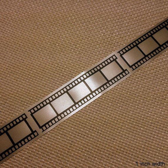 Movie Film Ribbon Hollywood Wedding Theme Party 5/8 by